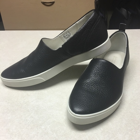 6cf1b037 Ecco Gillian Black Slip On Shoes